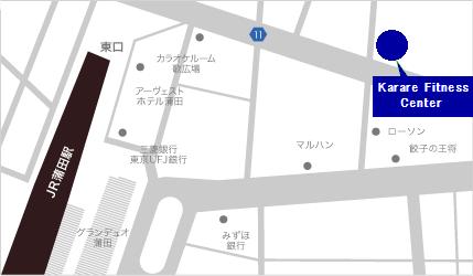 Karare Fitness Center マップ